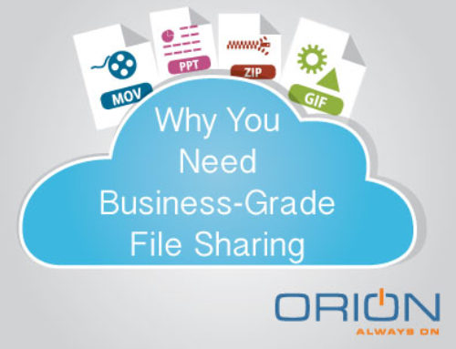 Why You Need Business Grade File Sharing