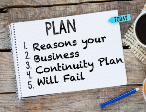 Reasons your Business Continuity Plan Will Fail