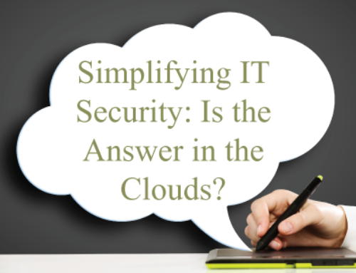Simplifying IT Security: Should we look to the Cloud?