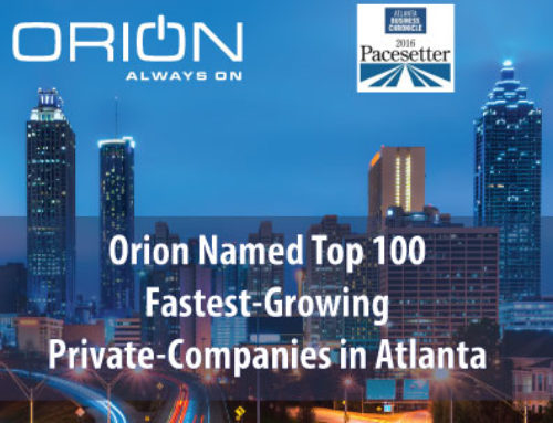 Orion Named One of the Fastest Growing Private Companies in Atlanta