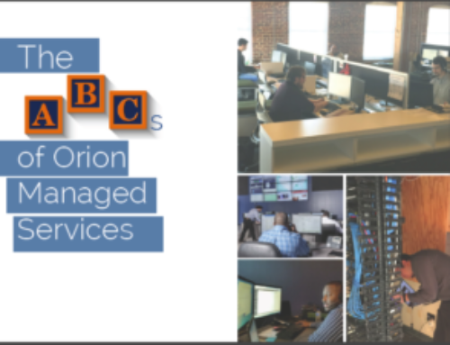 ABCs of Orion Managed Services